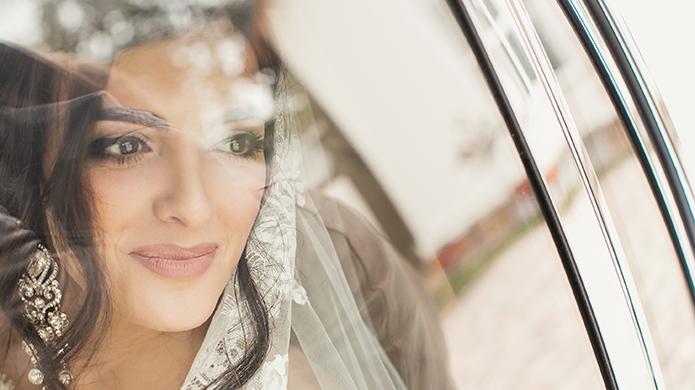 Александр и Элина: свадебный день
